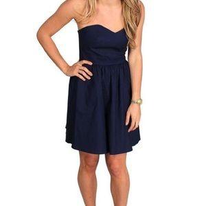 Lauren James Savannah Dress (Navy)